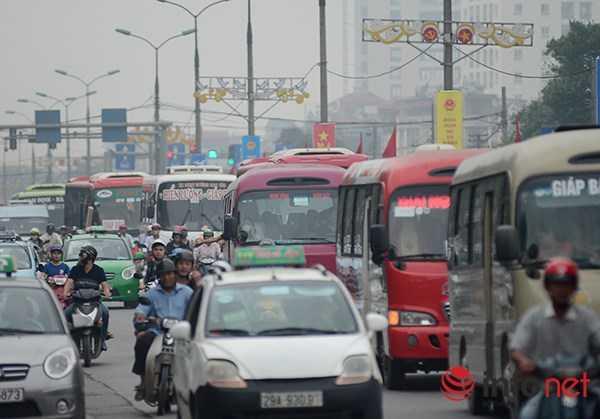 Cửa ngõ phía Nam của Hà Nội có mật độ cao hơn cả bởi đây là hướng tập   trung nhiều tuyến ngắn như Thái Bình, Nam Định, Ninh Bình, Thanh Hoá.