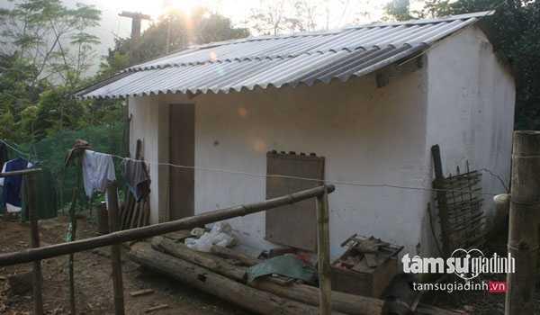 Ngôi nhà nhỏ của ông Bình giữa rừng thiêng