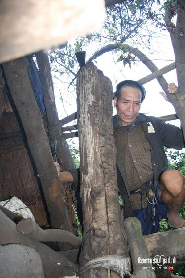 Ông Bình sống một mình nhưng chẳng mấy khi thấy ông ốm đau