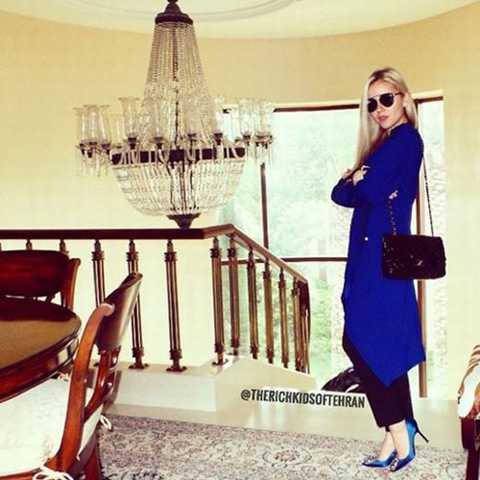 Những cô gái hội con nhà giàu ở Iran…
