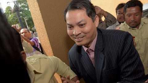 Đại sứ Campuchia tại Hàn Quốc, ông Suth Dina . Ảnh: AFP