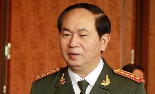 Ông Trần Đại Quang được giới thiệu để bầu Chủ tịch nước