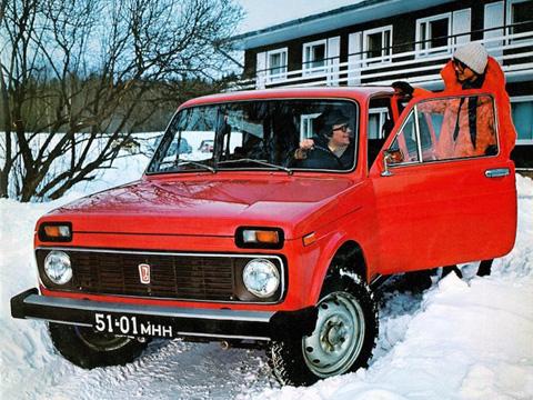 Một mẫu xe nổi tiếng khác của Lada là   Niva - mẫu xe off-road đầu tiên sử dụng cấu trúc thân xe nguyên khối và   hệ thống treo trước độc lập. Niva được coi là