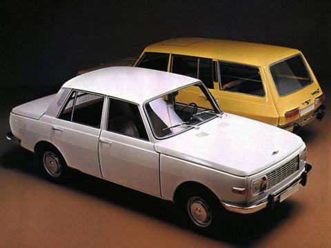 Bên cạnh Trabant, một mẫu xe khác   cũng đến từ Đông Đức là Wartburg 353, một mẫu xe với kiểu dáng bắt nguồn   từ một thiết kế năm... 1938 của BMW và chạy bằng động cơ 3 xi-lanh, 2   kỳ 993 cc của BMW. Động cơ của chiếc xe có thiết kế siêu đơn giản với   chỉ 7 bộ phận hoạt động chính. Mặc dù vậy, trong thời kỳ còn sản xuất,   khách hàng sẽ phải đợi tới 10 năm mới được nhận xe.