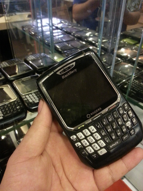 'Điện thoại Obama' BlackBerry 8700.