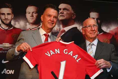 Van Gaal gia nhập Manchester United sau World Cup 2014