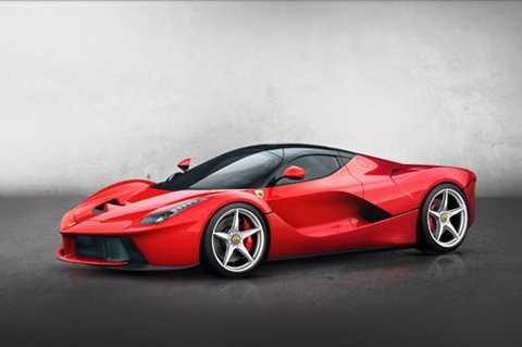 1. Ferrari LaFerrari (thời gian tăng tốc từ 0-100 km/h: 2,7 giây).