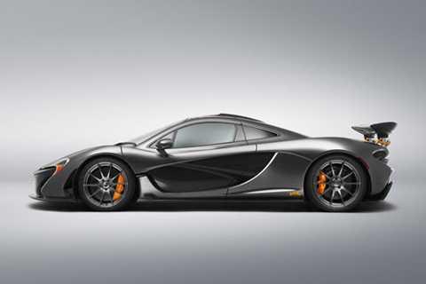 2. McLaren P1 (thời gian tăng tốc từ 0-100 km/h: 2,8 giây).