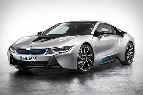 4. BMW i8 (thời gian tăng tốc từ 0-100 km/h: 4,4 giây).