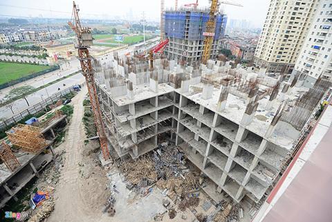 Nhiều người ví von rằng, nhìn 3 tòa   nhà của dự án Usilk City như người