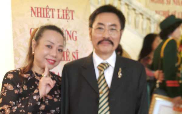 Vợ chồng NSƯT Thu Hà - NSND Hoàng Đạt