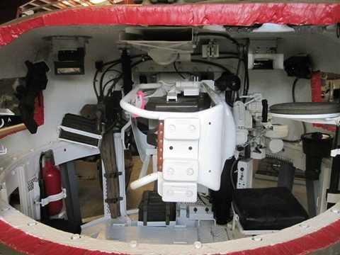 Bên trong tháp pháo xe tăng Sherman