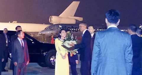 Trước khi đoàn của Tổng thống Obama sang thăm Việt Nam họ đã thuê đường truyền riêng của VNPT.