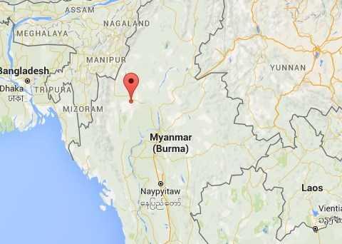 Động đất cực mạnh ở Myanmar