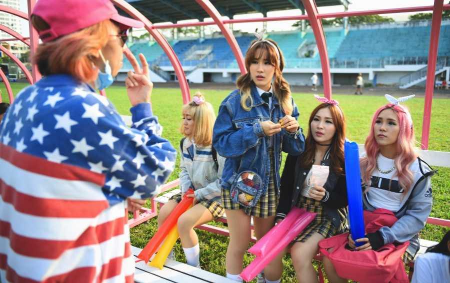 Nhóm nhạc nữ mang đậm phong cách Hàn Quốc