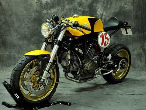 Bản độ phong cách cafe racer từ   Ducati 750 SSie này được Pepo đặt tên là 'Rider