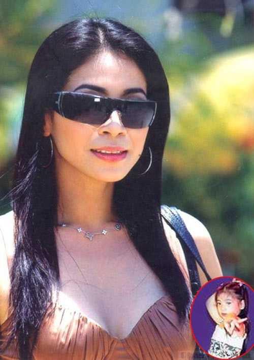 Diễn viên Lý Hương và con gái thời đỉnh cao