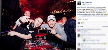 DJ Mike Hào chia sẻ về Seungri