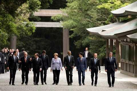 Năm nay, Nhật Bản giữ vai trò chủ tịch Hội nghị thượng đỉnh G7