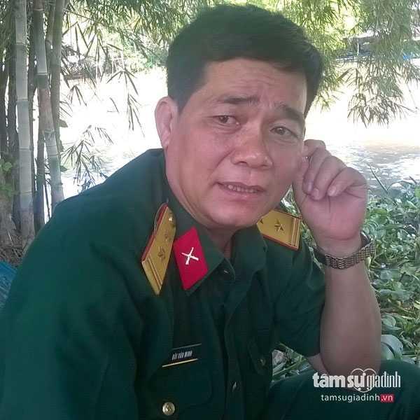 Ông Minh khẳng định cả 3 người bị chôn đều là bộ đội