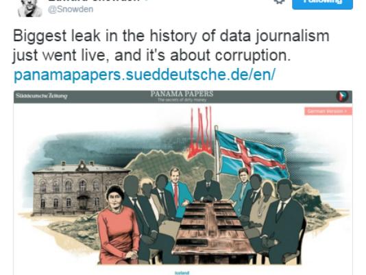 Chia sẻ của một nhà báo trên mạng xã hội về vụ rò rỉ loạt tài liệu về tham nhũng và rửa tiền lớn nhất lịch sử