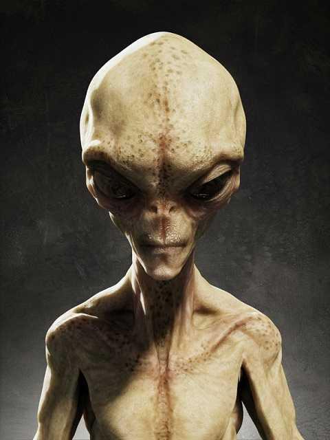 Nghi vấn sự xuất hiện của người ngoài hành tinh.