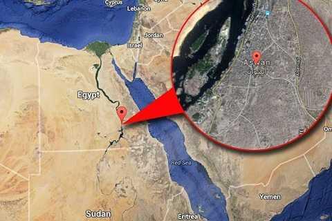 Khu nghĩa địa được phát hiện tại thành phố cổ Aswan.