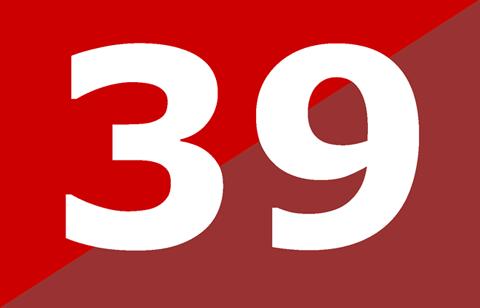 Theo một bài báo đăng tải trên The   Guardian (Anh), 39 là một con số đáng sợ ở Afghanistan. Mặc dù không có   người nào có thể giải thích lý do vì sao họ lại sợ con số 39 nhưng họ   nhất định không để con số đen đủi này xuất hiện trong biển số xe, số   điện thoại và địa chỉ nhà riêng...
