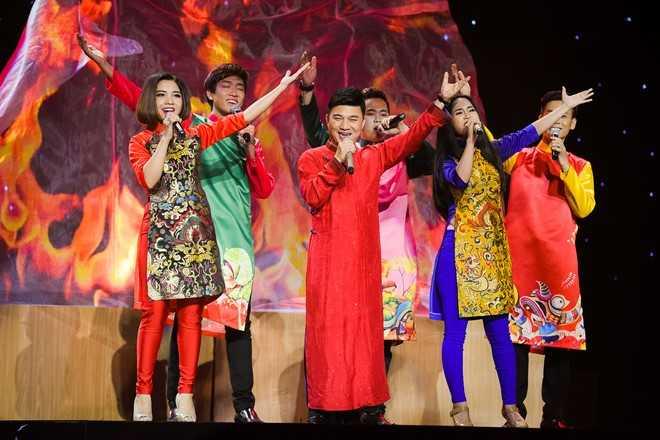 HLV Quang Linh và các học trò