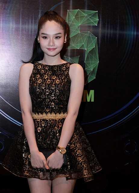 Hình ảnh Miu Lê tham gia Làn Sóng Xanh năm 2012