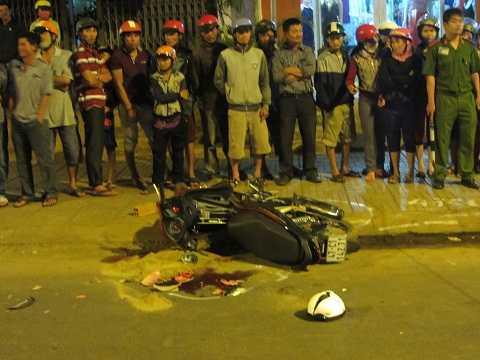 Hiện trường vụ tai nạn nghiêm trọng (Ảnh: Thanh Hải)