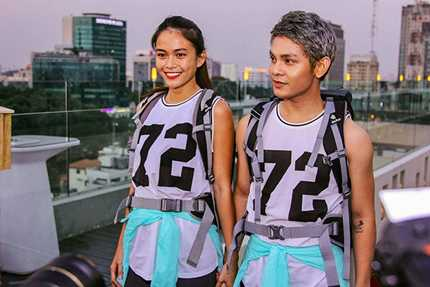 Mâu Thủy cùng đội với Sơn Ngọc Minh, là đối thủ của Đinh Tiến Đạt tại Cuộc đua kì thú 2016