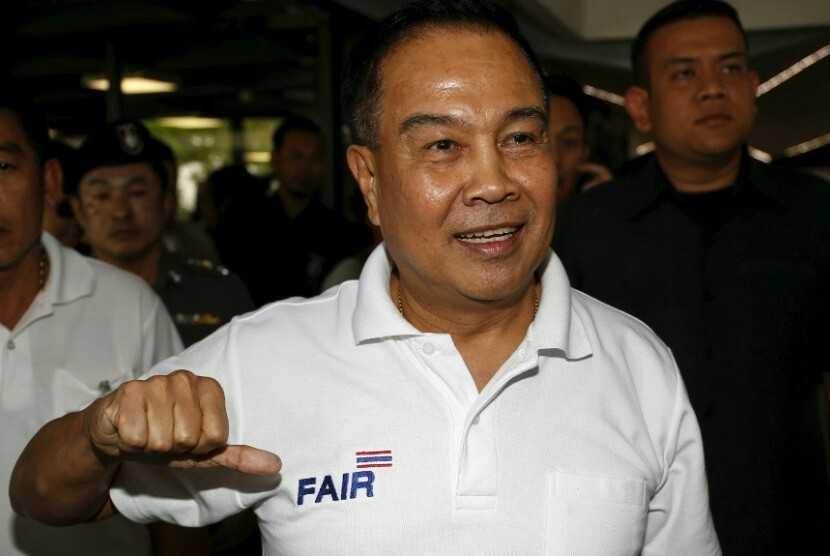 Chủ tịch FAT, ông Somyot Poompunmuang, nguyên Cảnh sát trưởng Hoàng gia Thái Lan
