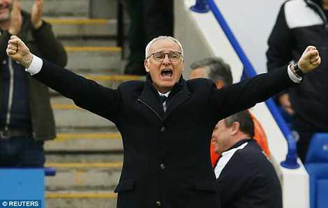 HLV Ranieri đang đứng trước cơ hội giành danh hiệu lớn nhất trong sự nghiệp