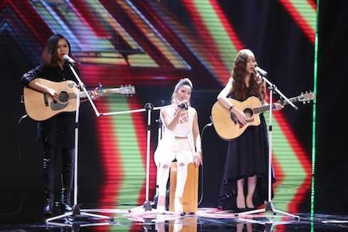 Nhóm nhạc nữ theo đuổi phong cách sexy tham gia X-factor 2016.