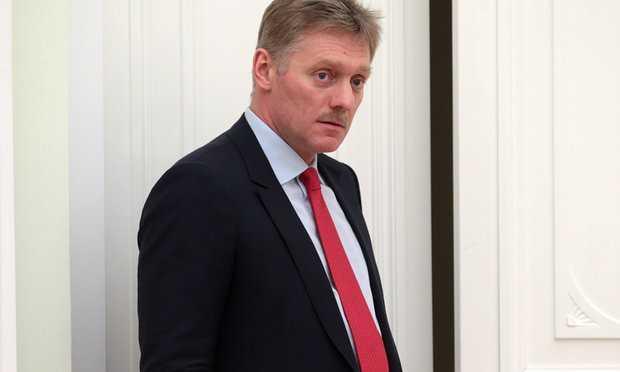 Dmitry Peskov, phát ngôn viên của Tổng thống Nga Putin