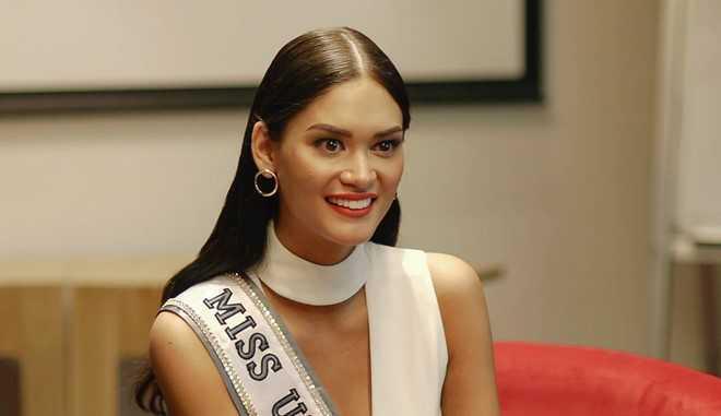 Hình ảnh mới của Hoa hậu Hoàn vũ ở Philippines. Ảnh: Rappler
