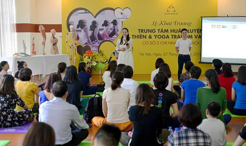 Bà Nguyễn Thị Thu Xinh, huấn luyện viên Yoga chia sẻ bí quyết để bảo vệ sức khỏe