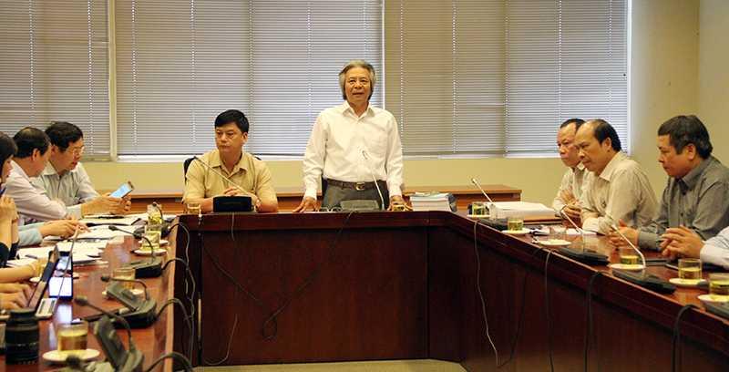 Viện Hàn lâm Khoa học Xã hội Việt Nam tổ chức họp báo thông tin về vấn đề dư luận đang xôn xao (Ảnh: Phạm Thịnh)