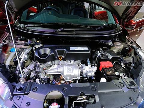 Về động cơ, Honda BR-V có 2 tuỳ chọn động cơ: động cơ xăng 1.5L
