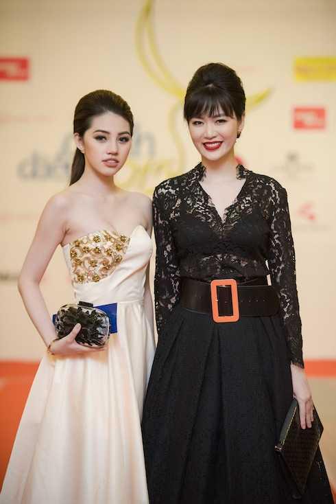 Jolie Nguyễn và Hoa hậu Thu Thuỷ.