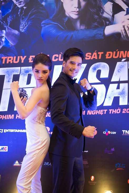 Jolie Nguyễn và Thiên Nguyễn.
