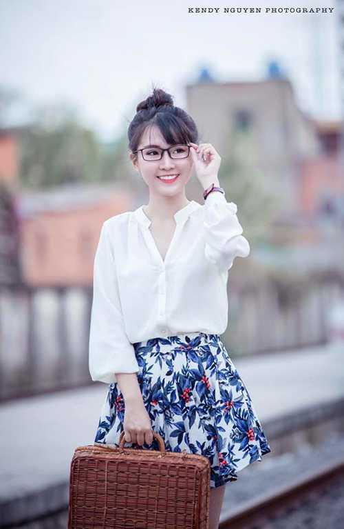 Cô gái xinh đẹp Huệ Châu còn có tài lẻ là hát rap