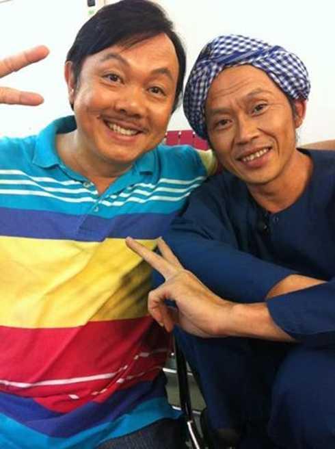 Chí Tài và Hoài Linh là một cặp bài trùng vô cùng ăn ý trên sân khấu hài.