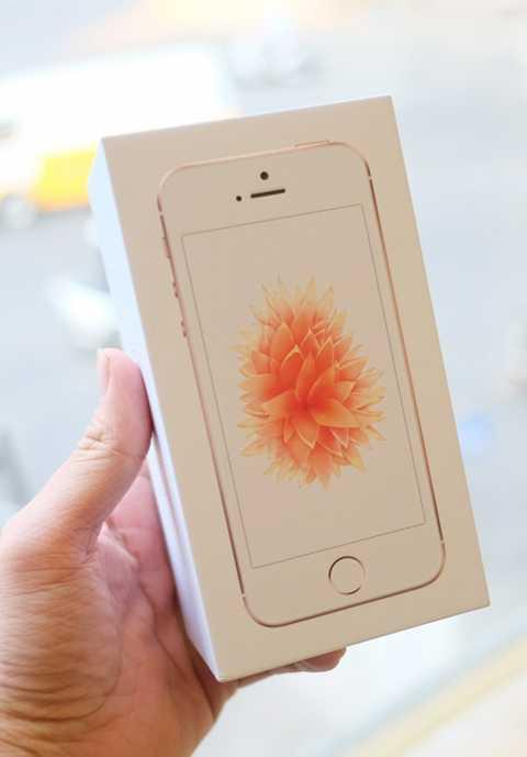 Chiếc iPhone SE đầu tiên về Việt Nam