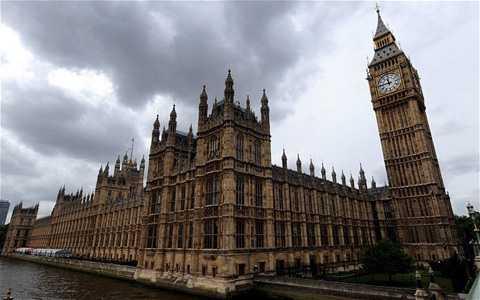 Tòa nhà Quốc hội Anh, địa điểm xuất hiện trong video đe dọa khủng bố của IS. (Nguồn: EPA)
