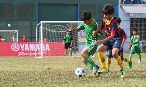 Festival bóng đá học đường là hoạt động cần được nhân rộng