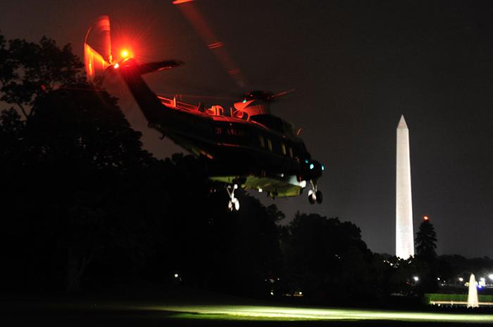 Trực thăng Marine One được dùng cho các nhiệm vụ trong và ngoài nước
