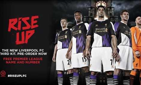 Ngay cả Liverpool cũng bị chê tơi tả bộ trang phục sân khách của mùa giải trước