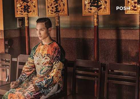Kim Lý sở hữu vẻ đẹp quốc tế, hoà quện giữa sự thanh lịch, hiện đại và nét truyền thống Á Đông.